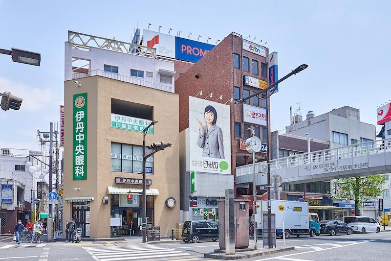 SDF24 阪急伊丹駅前店への道順